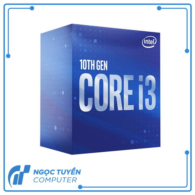 CPU Intel Core i3-10100 (3.6GHz, 6MB Cache, 65W)