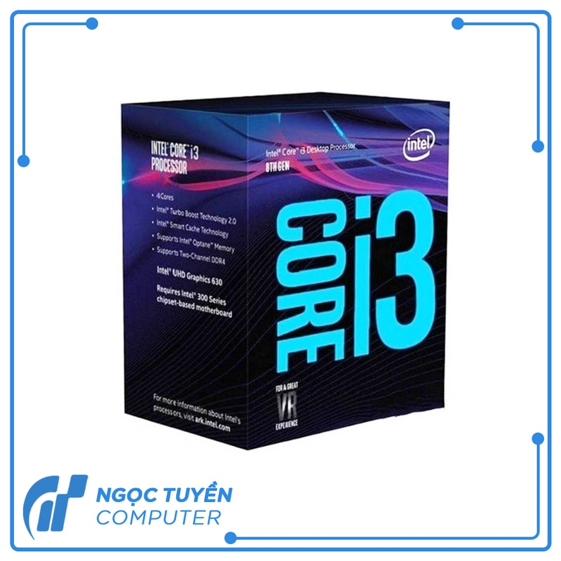CPU Intel Core i3 -9100F (3.6 GHzTurbo up to 4.20GHz / 4 nhân 4 luồng/ 6MB /Socket 1151)